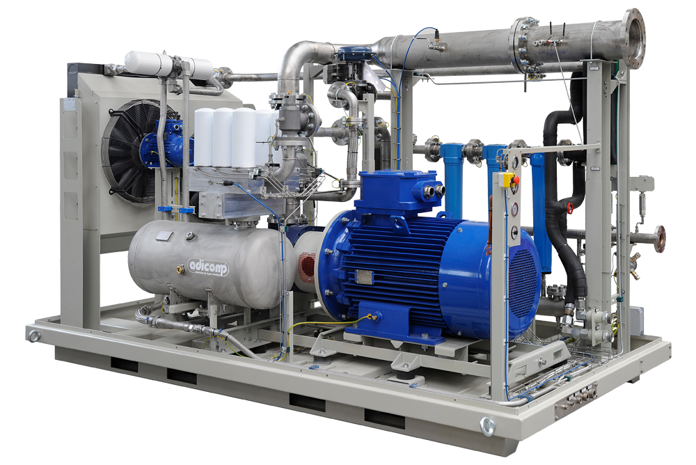 biogas biomethane compressor for biogas upgrading